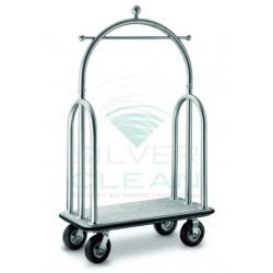 Porta Malas Luxo com Cúpula Prata