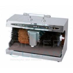 Máquina Limpa-Sapatos Inox