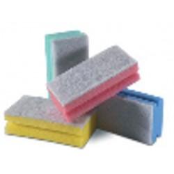 Esfregão Salva-Unhas Esponja Azul
