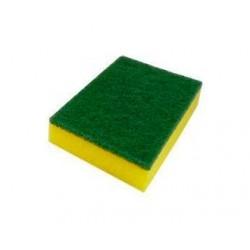 Esfregão Verde c/ Esponja