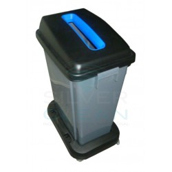 Papeleira Eco Ponto Slim-Jim Azul
