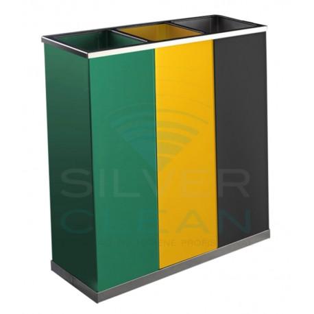 Papeleira com 3 Cubos Quadrada