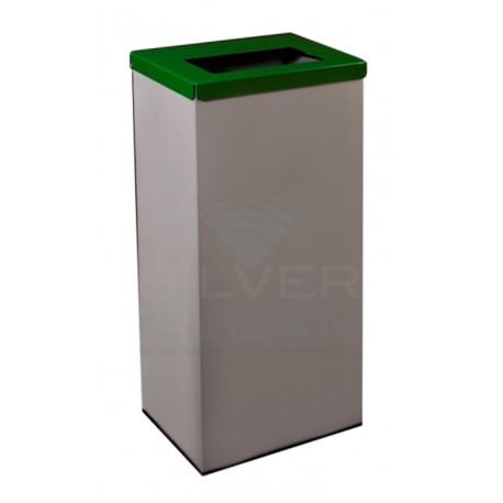 Papeleira Retangular Reciclagem