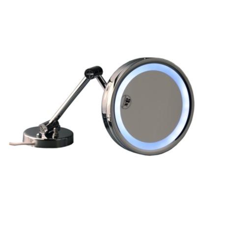 Espelho de Parede Redondo c/ Luz LED